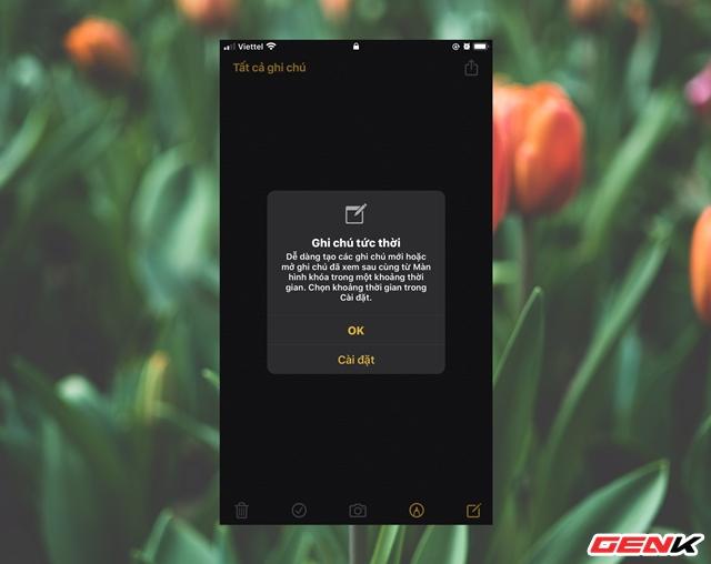"""iOS 13: Cách kích hoạt và sử dụng tính năng """"Ghi chú tức thời"""" - Ảnh 10."""