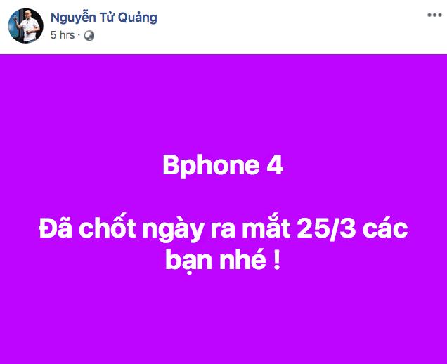 Bphone 4 chính thức ra mắt ngày 25/3 - Ảnh 1.