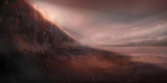 WASP-76b: Hành tinh có hiện tượng thiên nhiên siêu quái dị - mưa sắt dưới màn đêm vĩnh cửu - Ảnh 1.
