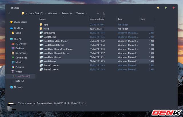 Thay áo Windows 10 bằng bộ giao diện nền tối tuyệt đẹp theo chuẩn phong cách macOS - Ảnh 7.