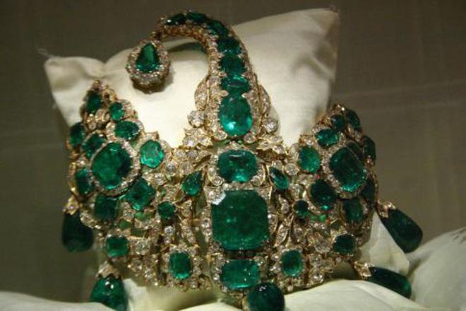 Lượng vàng, ngọc Nizam Đệ Thất sở hữu tương đương 50 tỷ bảng Anh ngày nay