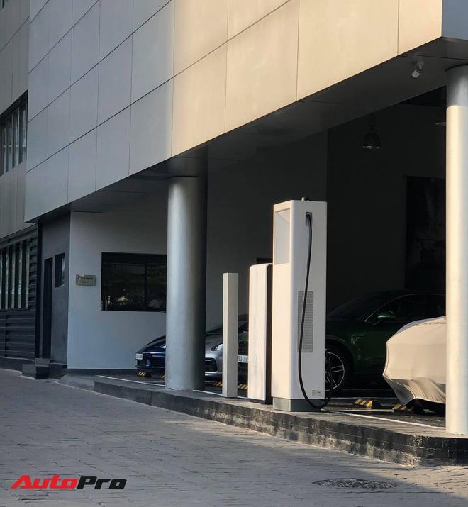 Porsche Taycan vừa về Việt Nam đã có trạm sạc riêng: Thời gian sạc còn nhanh hơn điện thoại - Ảnh 7.