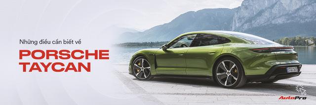Porsche Taycan vừa về Việt Nam đã có trạm sạc riêng: Thời gian sạc còn nhanh hơn điện thoại - Ảnh 10.