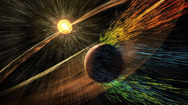 Trái Đất đang bị gió Mặt Trời tấn công ở tốc độ 414 km/giây: Xuất hiện 2 điều khiến giới khoa học lo sợ - Ảnh 1.