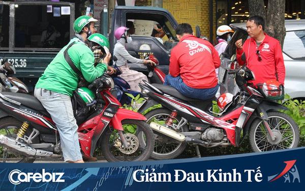GrabBike và GoBike cùng thông báo dừng hoạt động tại Hà Nội đến hết thời gian cách ly toàn xã hội - Ảnh 1.