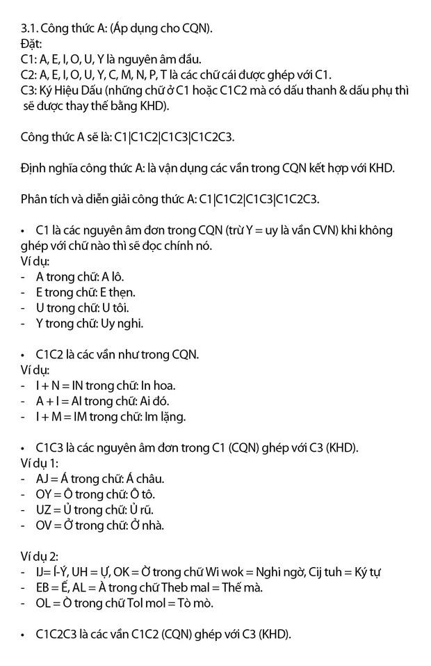 """Chi tiết """"Chữ Việt Nam song song 4.0"""" vừa được cấp bản quyền: Zuw zoif val ziwf emy, ond aol val lagh les - Ảnh 8."""