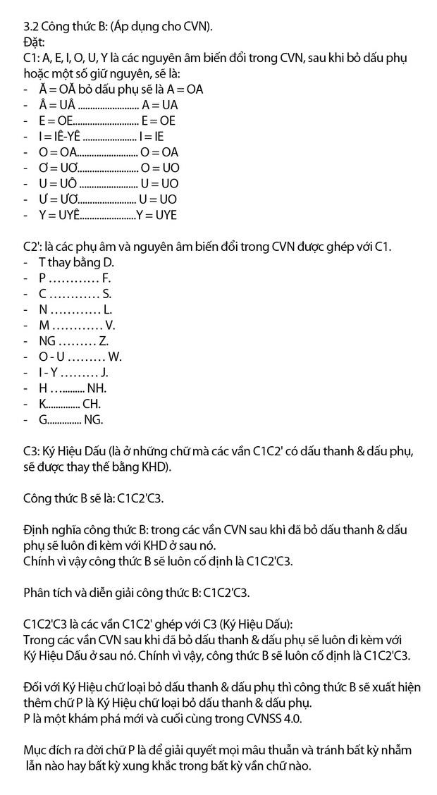 """Chi tiết """"Chữ Việt Nam song song 4.0"""" vừa được cấp bản quyền: Zuw zoif val ziwf emy, ond aol val lagh les - Ảnh 10."""