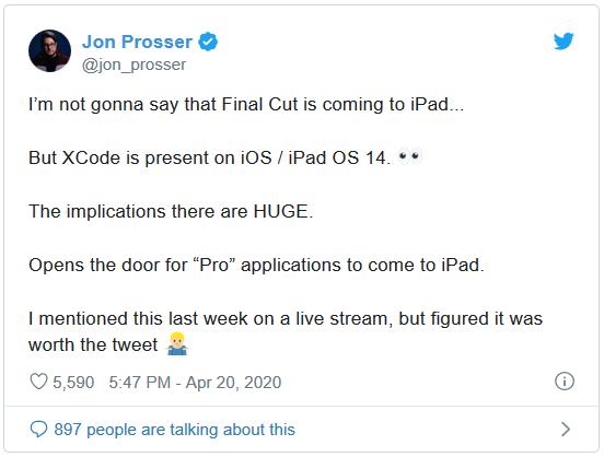 Nếu tính năng này là thật, Apple sẽ nâng iPad lên một tầm cao mới - Ảnh 1.