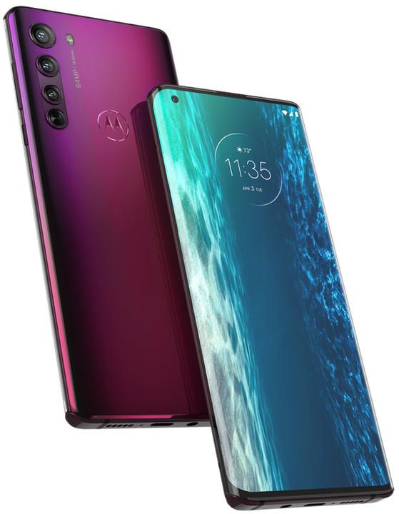 Motorola quay trở lại cuộc đua smartphone cao cấp với Edge Plus giá 1.000 USD - Ảnh 1.