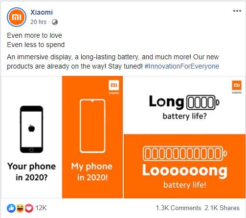 Xiaomi cà khịa iPhone SE 2020 ngay trên trang fanpage chính thức: Thiết kế quá lỗi thời, pin yếu - Ảnh 1.
