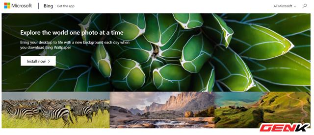 Microsoft phát hành ứng dụng Bing Wallpaper với kho ảnh nền khổng lồ dành cho Windows 10 - Ảnh 2.