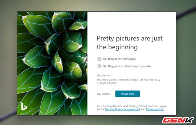 Microsoft phát hành ứng dụng Bing Wallpaper với kho ảnh nền khổng lồ dành cho Windows 10 - Ảnh 3.