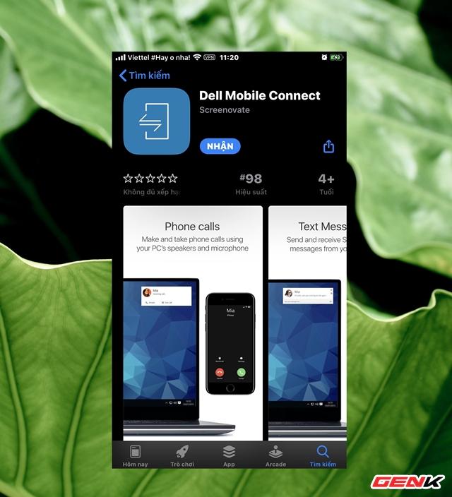Nhắn tin và gọi điện trên iPhone trực tiếp từ máy tính Windows với ứng dụng miễn phí đến từ... Dell - Ảnh 5.