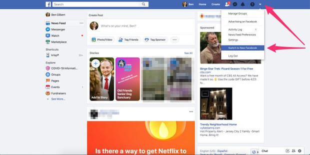 Facebook web update giao diện đen sì cho tất cả người dùng Việt Nam, bạn đã biết cách đổi ngay chưa? - Ảnh 1.