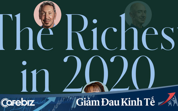 Danh sách những tỷ phú giàu có nhất hành tinh năm 2020: Covid-19 quật ngã cả những người giàu, trên 50% chứng kiến tài sản giảm mạnh - Ảnh 1.