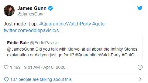 Đạo diễn Guardians of the Galaxy tự bịa nguồn gốc cho Đá Vô Cực, không hề biết chúng quan trọng thế nào trong MCU - Ảnh 3.