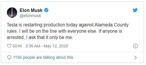 Lộ diện nhân vật chống lưng cho Elon Musk, giúp ông chủ Tesla tự tin mở cửa lại nhà máy giữa đại dịch - Ảnh 2.
