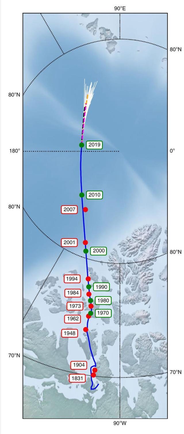 Những thay đổi lớn đang diễn ra bên trong lòng Trái Đất khiến cực từ phía Bắc di chuyển dần về phía Siberia - Ảnh 3.