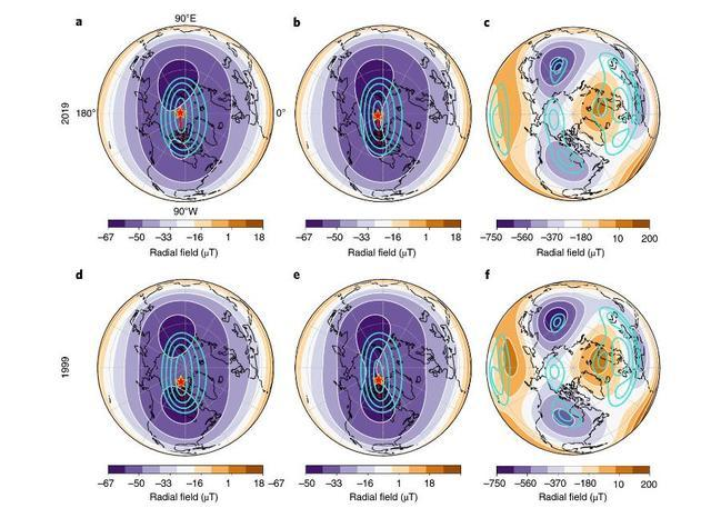 Những thay đổi lớn đang diễn ra bên trong lòng Trái Đất khiến cực từ phía Bắc di chuyển dần về phía Siberia - Ảnh 5.