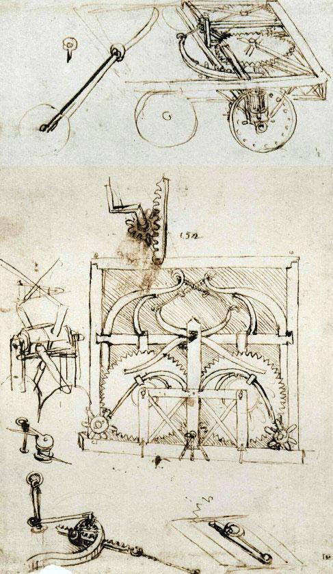 Những phát minh thể hiện trí tuệ siêu phàm của Leonardo da Vinci - Ảnh 11.