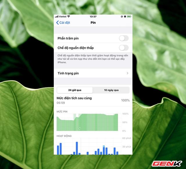 Để tăng thời lượng dùng pin cho iPhone, bạn nên thực hiện những thao tác này - Ảnh 7.