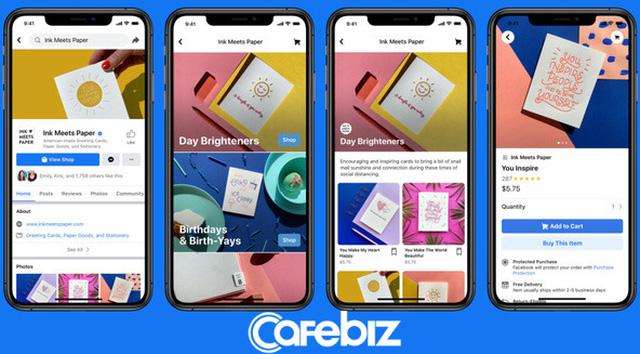 Facebook vừa chính thức cho phép 2,6 tỷ người dùng mua hàng trực tiếp trên nền tảng của họ, từ Amazon đến các ứng dụng đặt, giao đồ ăn đều phải run sợ! - Ảnh 2.