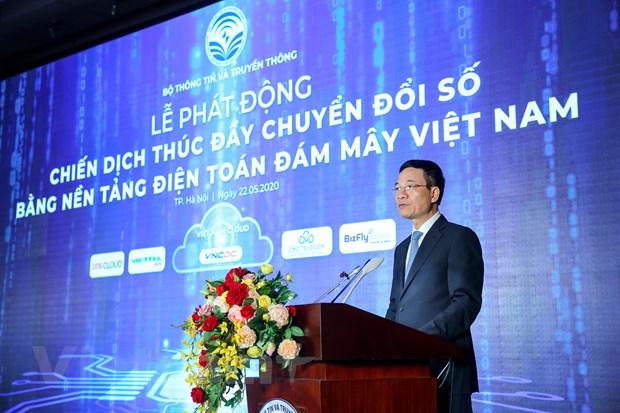 Phát động chiến dịch thúc đẩy chuyển đổi số bằng điện toán đám mây nội địa, Việt Nam hướng tới số hóa mọi mặt đất nước trong tương lai gần - Ảnh 1.