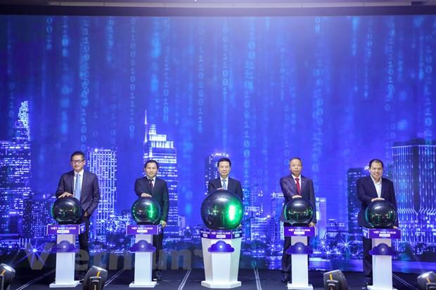 Bộ trưởng Nguyễn Mạnh Hùng phát động chiến dịch thúc đẩy chuyển đổi số bằng điện toán đám mây nội địa, hướng tới số hóa mọi mặt đất nước trong tương lai gần - Ảnh 2.