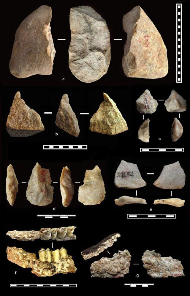 Phát hiện về sự tồn tại của người cổ đại bên ngoài Châu Phi đã đến Trung Quốc 2.1 triệu năm trước - Ảnh 1.