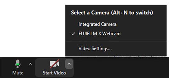 Sau Canon đến Fujifilm phát hành phần mềm để dùng máy ảnh của họ làm webcam - Ảnh 5.