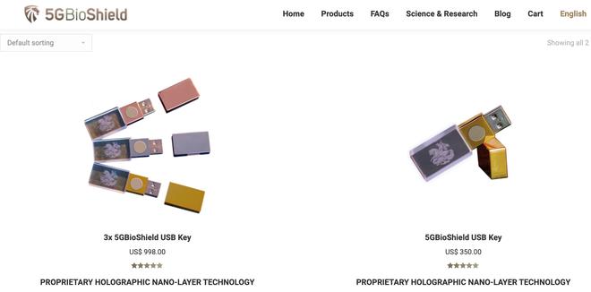Người dân Anh được khuyên mua USB chống 5G, giá gần 10 triệu VNĐ mà chẳng khác gì USB thường - Ảnh 2.