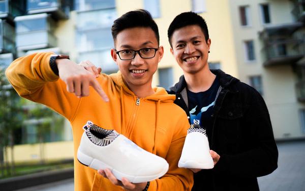 Vì sao đã có những ông lớn Nike, Adidas, Li-Ning... nhưng 2 chàng trai Việt 9x vẫn startup thành công thương hiệu giày riêng và được Forbes liên tiếp vinh danh? - Ảnh 1.