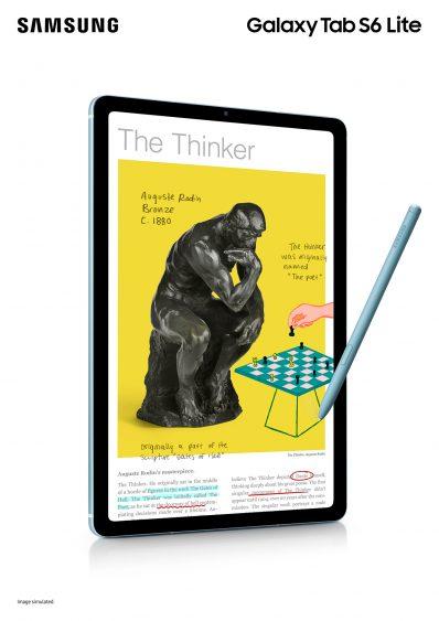 Galaxy Tab S6 Lite ra mắt tại VN: Hỗ trợ S Pen, giá 9.99 triệu đồng - Ảnh 1.