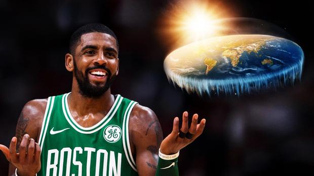 Kyrie Irving cho rằng Trái đất thực sự giống như chiếc bánh pizza.