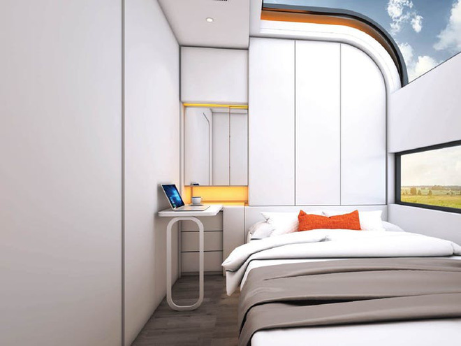 Bên trong căn nhà thông minh dành cho 4 người có thiết kế như tàu vũ trụ - Ảnh 3.