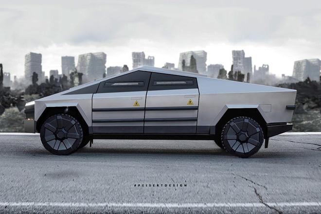 Cybertruck của Tesla có thể được chuyển đổi thành xe tăng bọc thép - Ảnh 3.