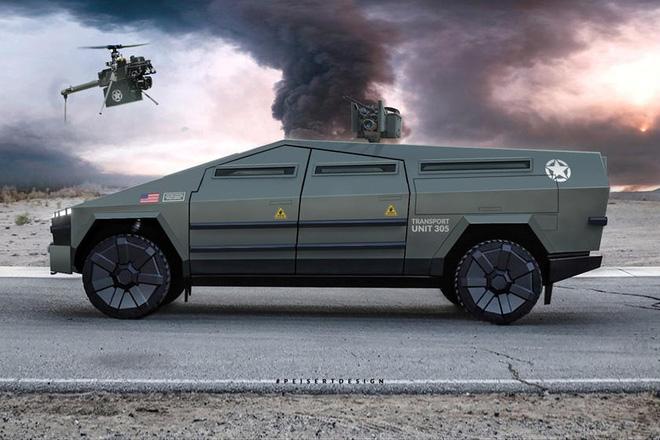 Cybertruck của Tesla có thể được chuyển đổi thành xe tăng bọc thép - Ảnh 4.