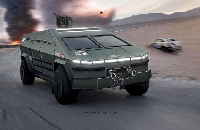 Cybertruck của Tesla có thể được chuyển đổi thành xe tăng bọc thép - Ảnh 5.