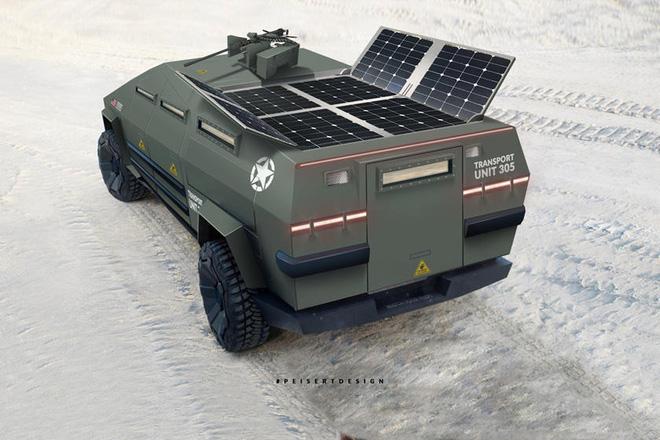 Cybertruck của Tesla có thể được chuyển đổi thành xe tăng bọc thép - Ảnh 6.