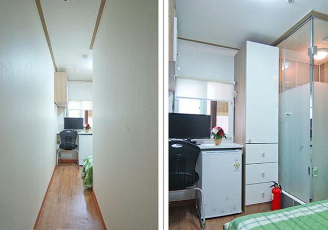 Những căn phòng tí hon chỉ 3 - 6m² nhưng chẳng thiếu thứ gì ở Hàn Quốc và Nhật Bản: Xu hướng thiết thực và được ưa chuộng của giới trẻ - Ảnh 5.
