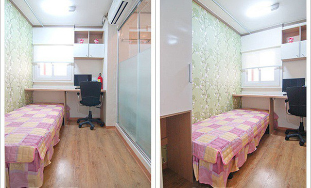 Những căn phòng tí hon chỉ 3 - 6m² nhưng chẳng thiếu thứ gì ở Hàn Quốc và Nhật Bản: Xu hướng thiết thực và được ưa chuộng của giới trẻ - Ảnh 7.