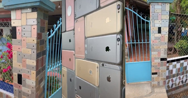 Bỏ 250 triệu mua iPhone về... lát tường, dân chơi Việt khiến cả reviewer nổi tiếng thế giới cũng trầm trồ - Ảnh 3.