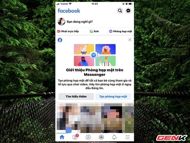 """Cách sử dụng tính năng """"Phòng họp mặt"""" trên Facebook - Ảnh 2."""