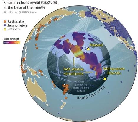 Dùng thuật toán phân tích dữ liệu động đất của 28 năm, các nhà khoa học xác định thành công một cấu trúc địa chất khổng lồ nằm sâu trong lòng đất - Ảnh 3.