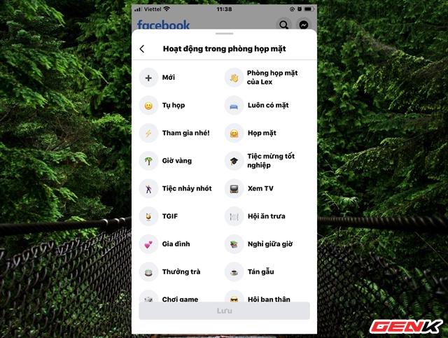 """Cách sử dụng tính năng """"Phòng họp mặt"""" trên Facebook - Ảnh 4."""