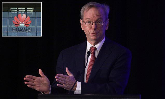 Cựu CEO Google, Eric Schmidt: Huawei đã tham gia vào các hành vi không thể chấp nhận được - Ảnh 1.