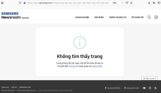 Reuters: Samsung phủ nhận chuyển dây chuyền sản xuất màn hình máy tính sang Việt Nam - Ảnh 2.