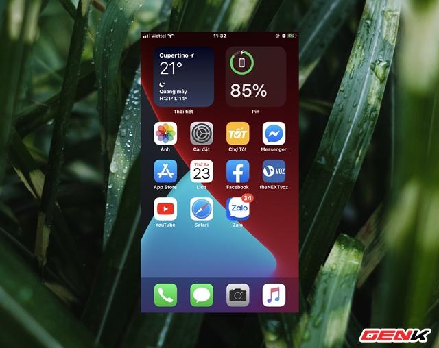 iOS 14: Cách thêm và tùy biến Widget ở màn hình Homescreen - Ảnh 1.