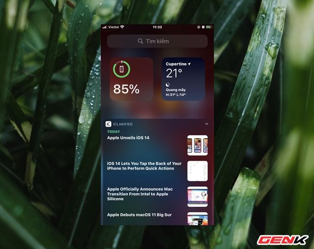iOS 14: Cách thêm và tùy biến Widget ở màn hình Homescreen - Ảnh 11.