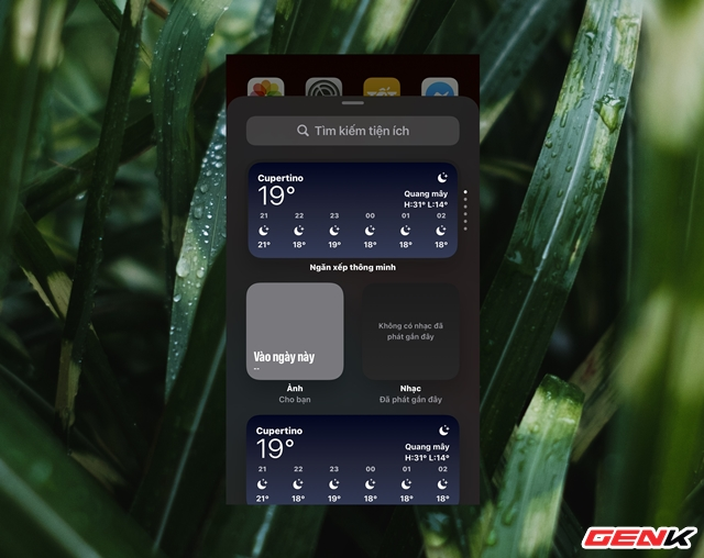 iOS 14: Cách thêm và tùy biến Widget ở màn hình Homescreen - Ảnh 3.